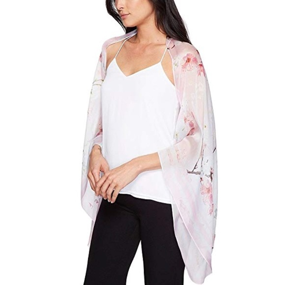 786cf4080f66c9 Ted Baker London Accessories | Ted Baker Oriental Blossom Capescarf ...